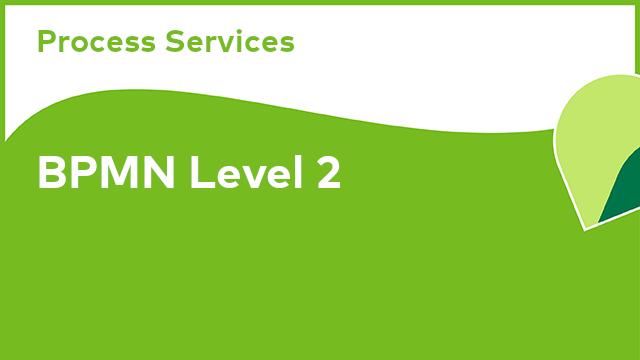 Process Services: BPMN Level 2