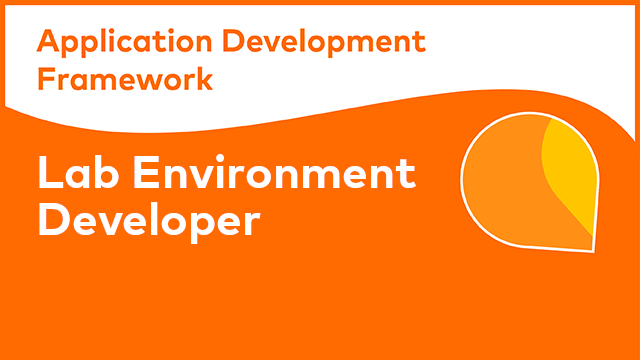ADF Lab Environment - Developer