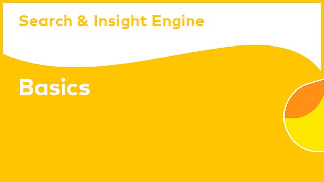 Alfresco Search and Insight Engine: Basics (Tutorial)
