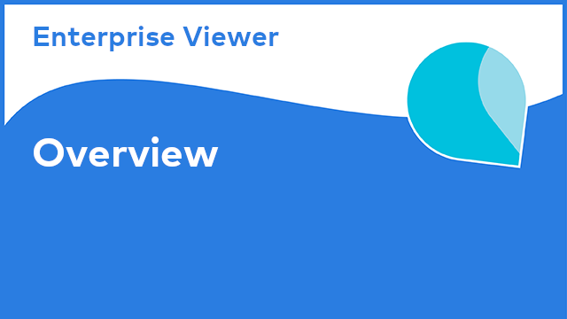 Enterprise Viewer: Overview