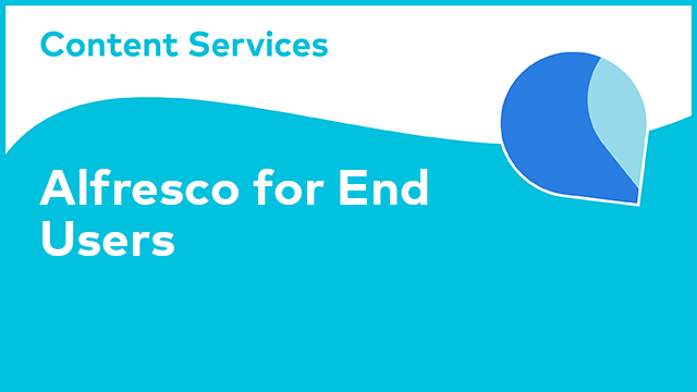 Alfresco for End Users