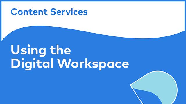 Alfresco Digital Workspace: Using