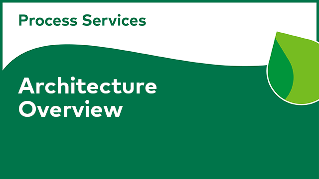 APS Architecture: Overview