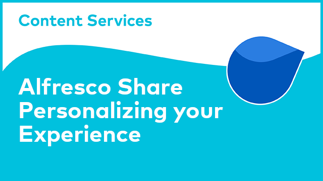ACS Share: Personalizing your Experience
