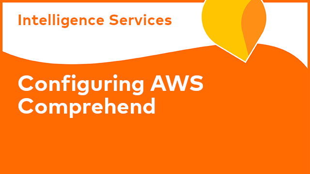 Intelligence Services: Configuring AWS Comprehend