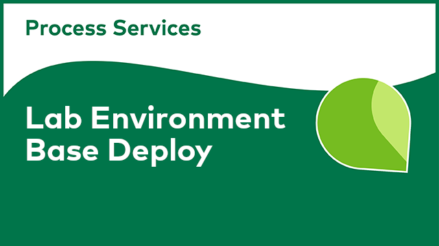 APS Lab Environment - Base Deploy