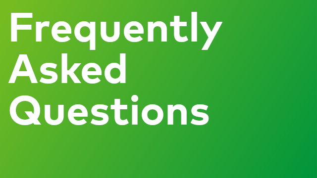 Frequently Asked Questions - Certification