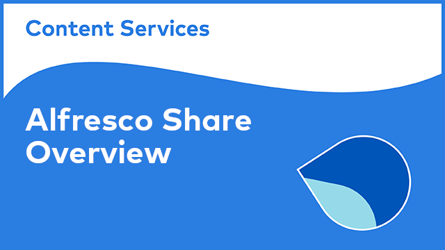 Alfresco Share: Overview