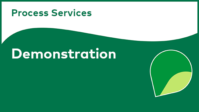 Process Services: Demonstration