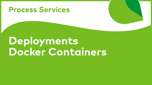 APS Deployments: Docker Containers