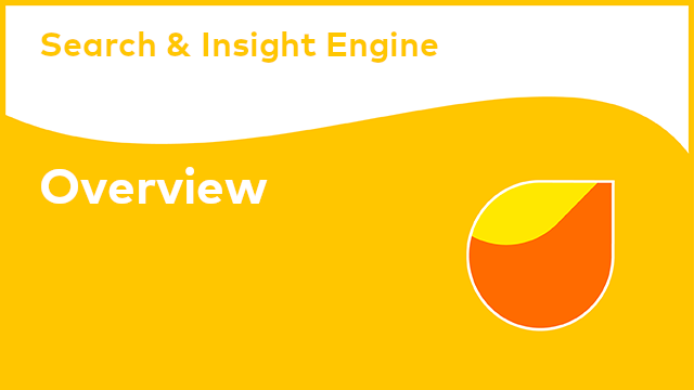 Search & Insight Engine: Overview