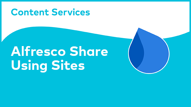 ACS Share: Using Sites