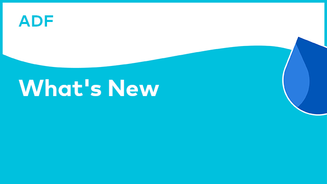 Application Development Framework: What's New