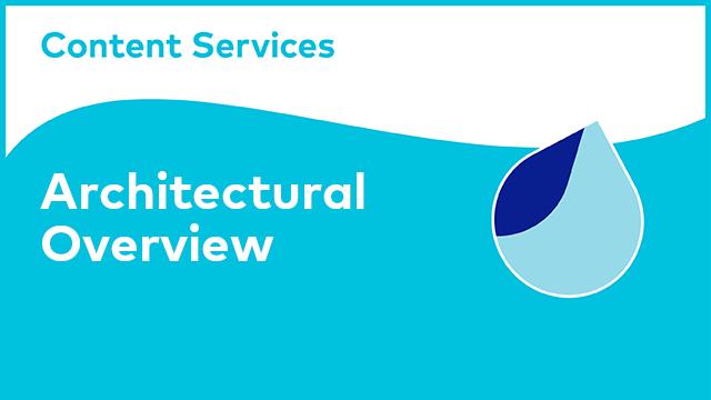 Alfresco Content Services Architectural Overview