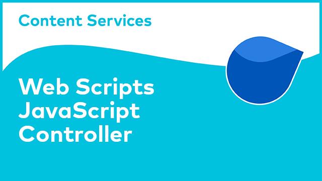 ACS Web Scripts: JavaScript Controller