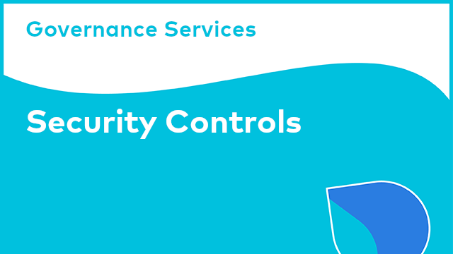 Governance Services: Security Controls