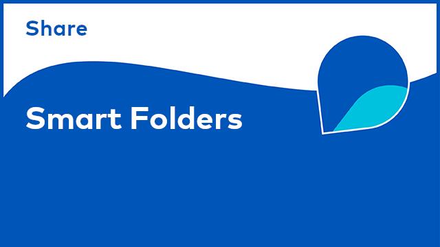 Share: Smart Folders