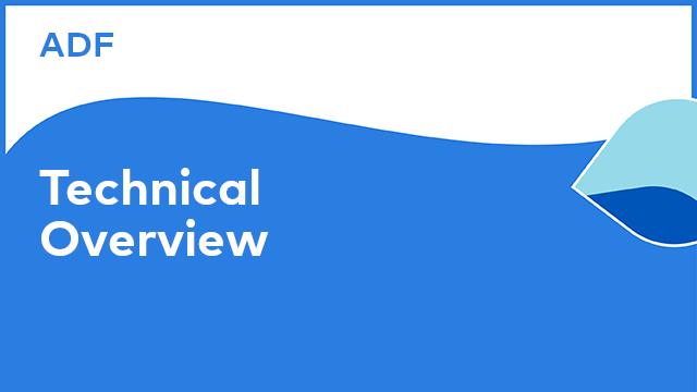 Application Development Framework: Technical Overview