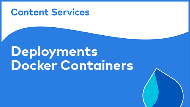 ACS Deployments: Docker Containers
