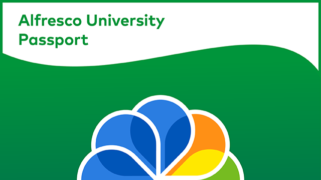 Purchase an Alfresco University Passport