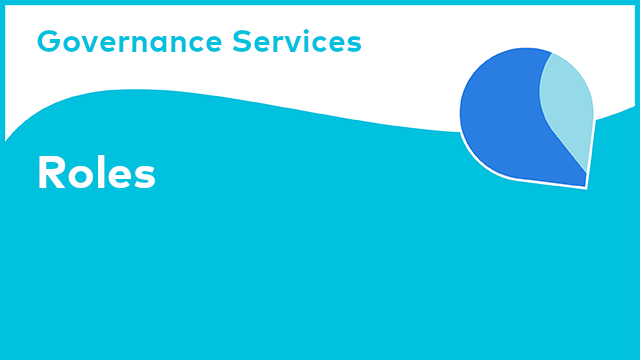 Governance Services: Roles