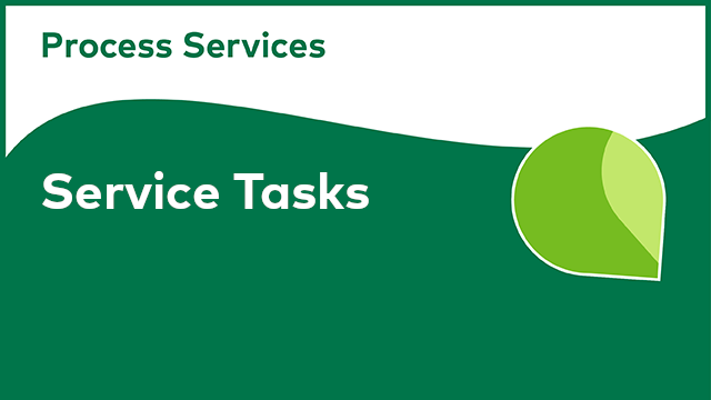 APS Development: Service Tasks