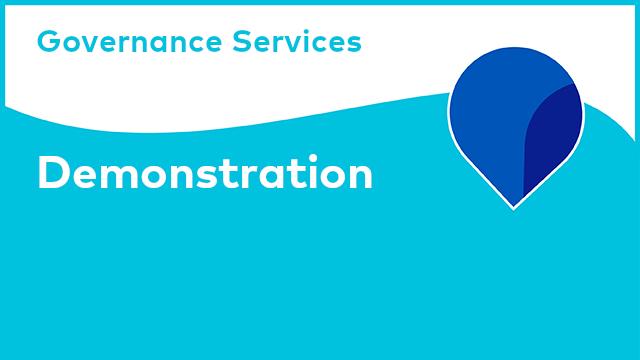 Governance Services: Demonstration