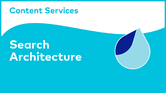 ACS Architecture: Search