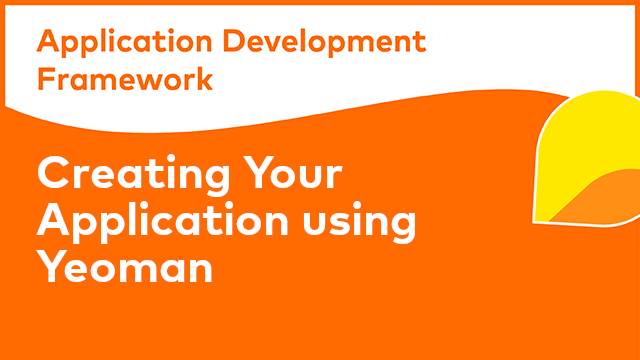 ADF Development: Creating Your Application Using Yeoman