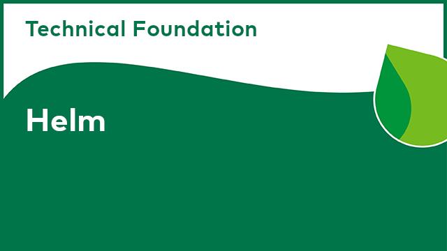Alfresco Technical Foundation: Helm