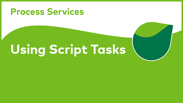 APS Development: Using Script Tasks