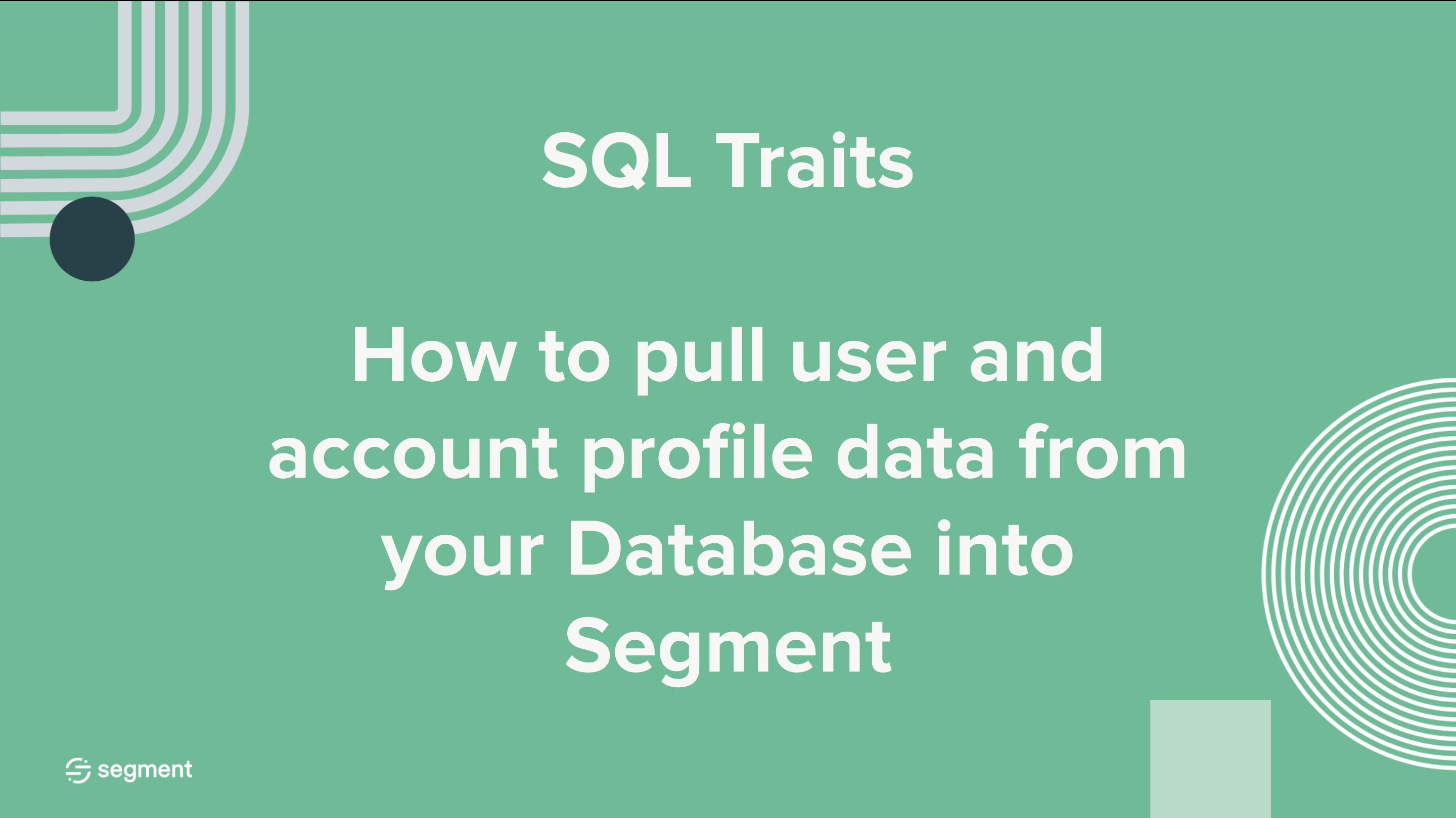 SQL Traits Course