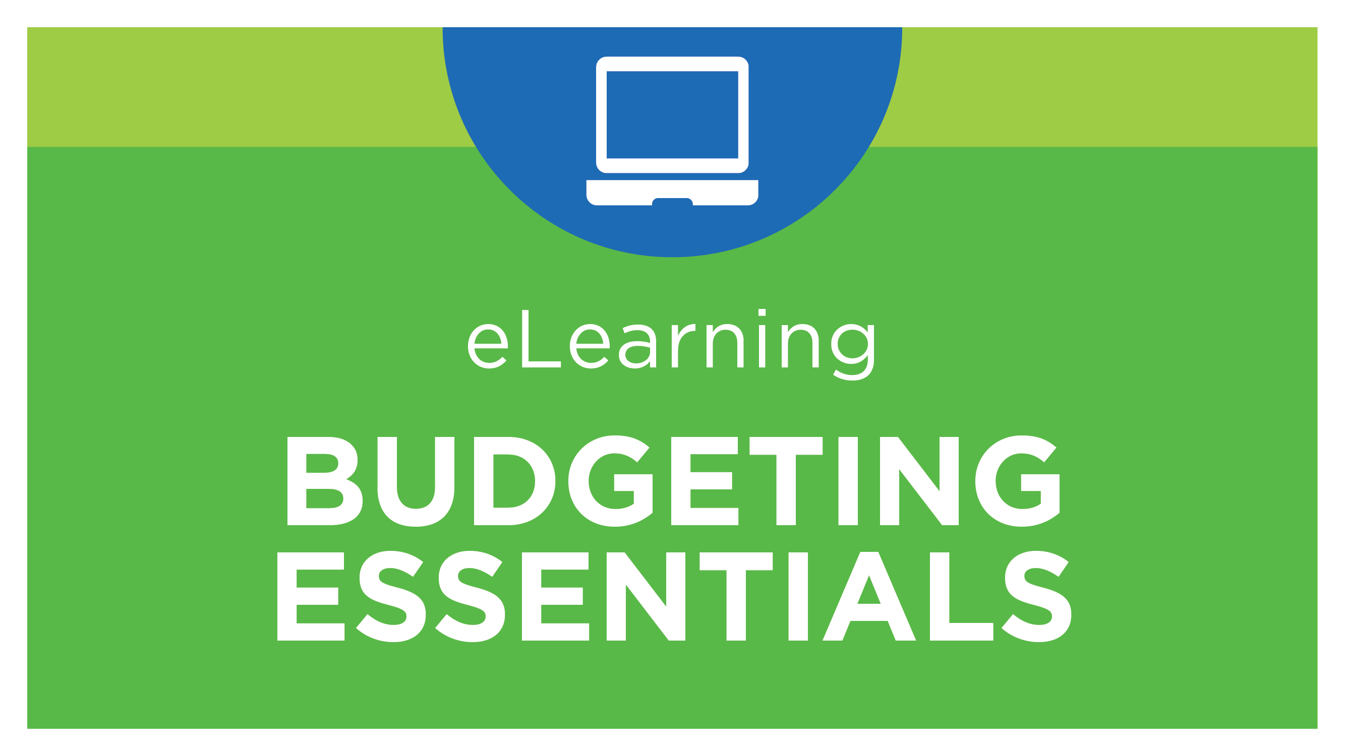 Self Study - Web Budgeting Essentials