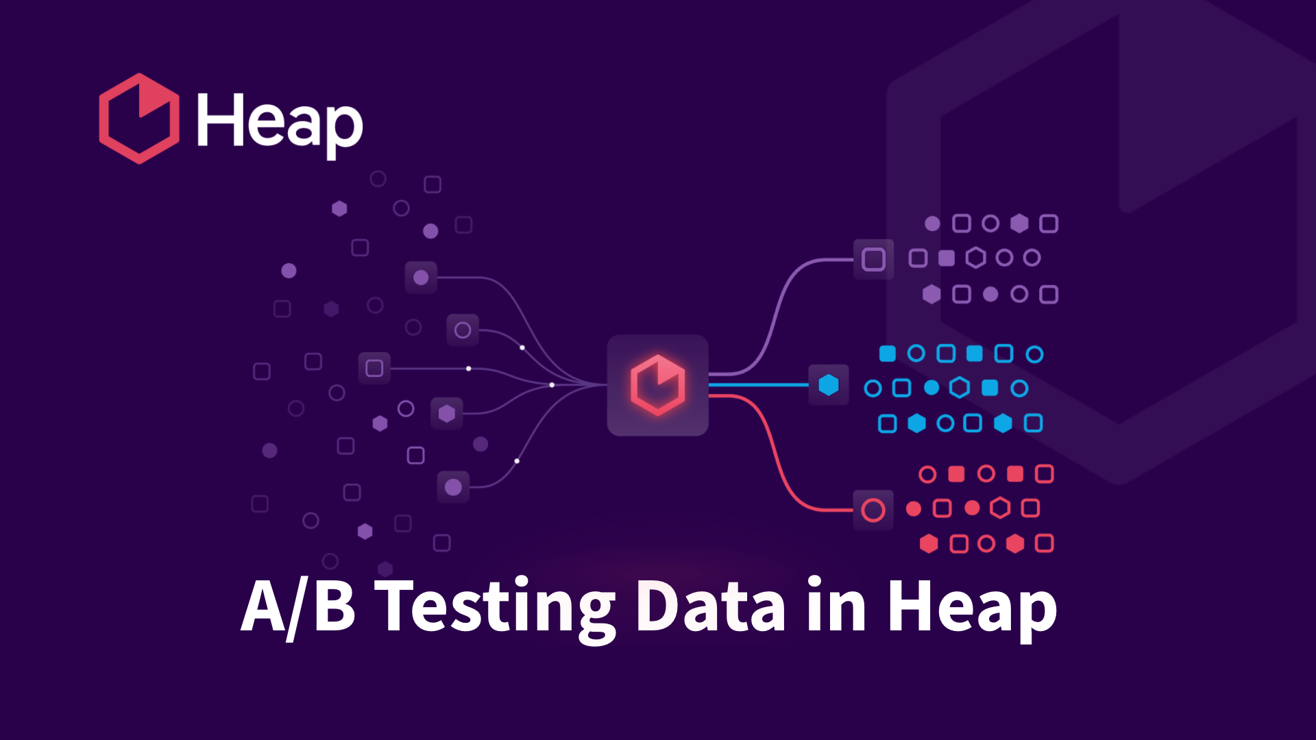 A/B testing Data in Heap