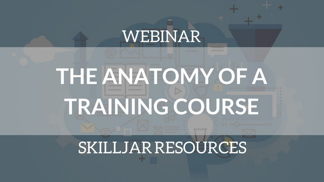 Anatomy of a Training Course