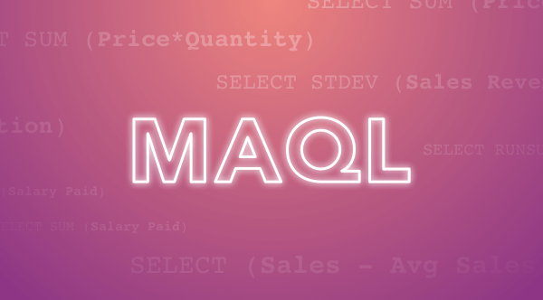 Getting Started with MAQL
