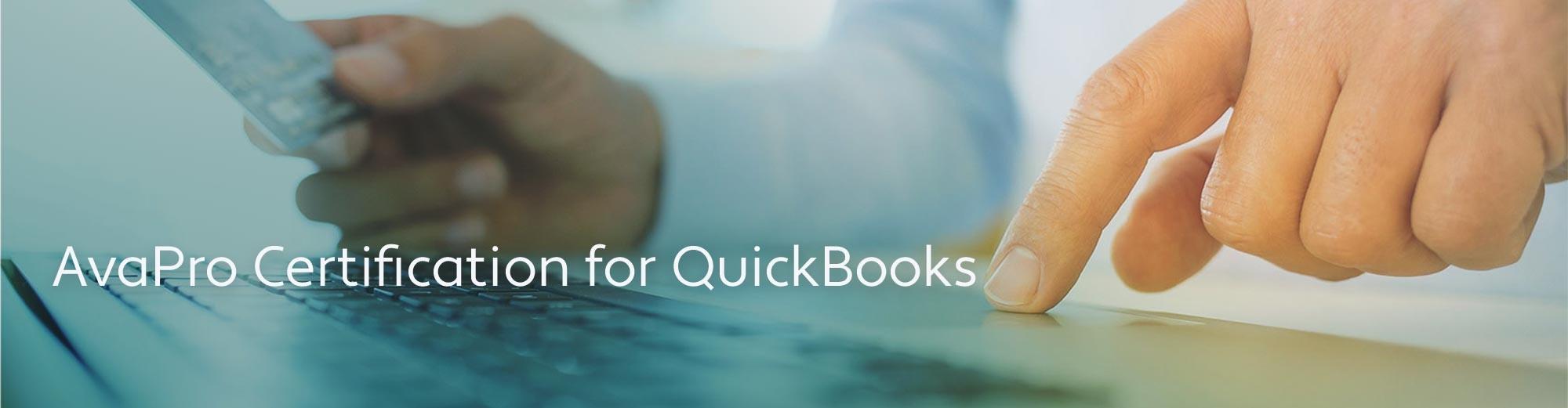 AvaPro Certification for Quickbooks