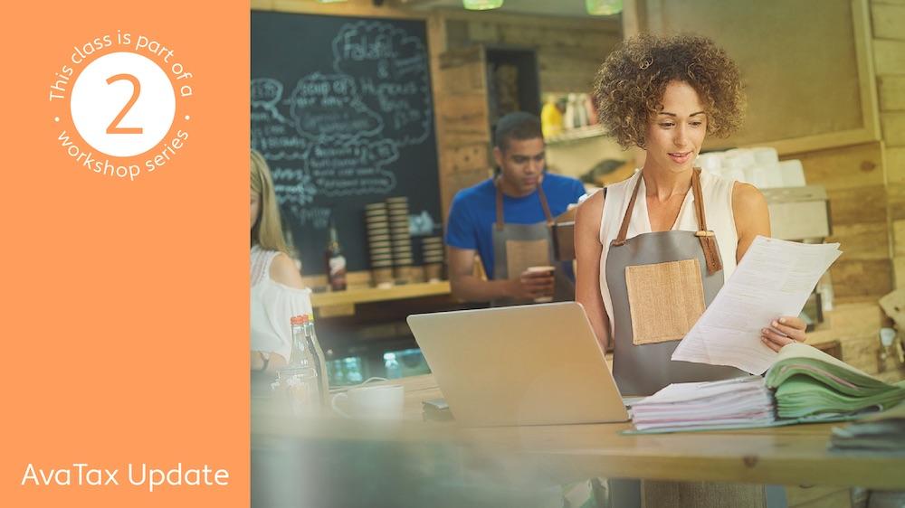 Live workshops | Review and adjust transactions