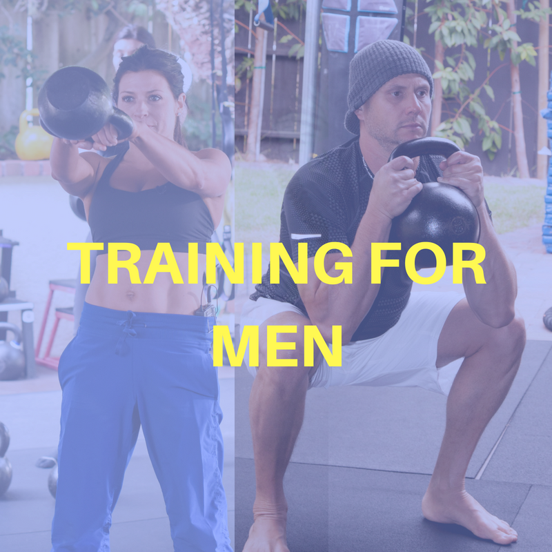 Recommended Training For Men