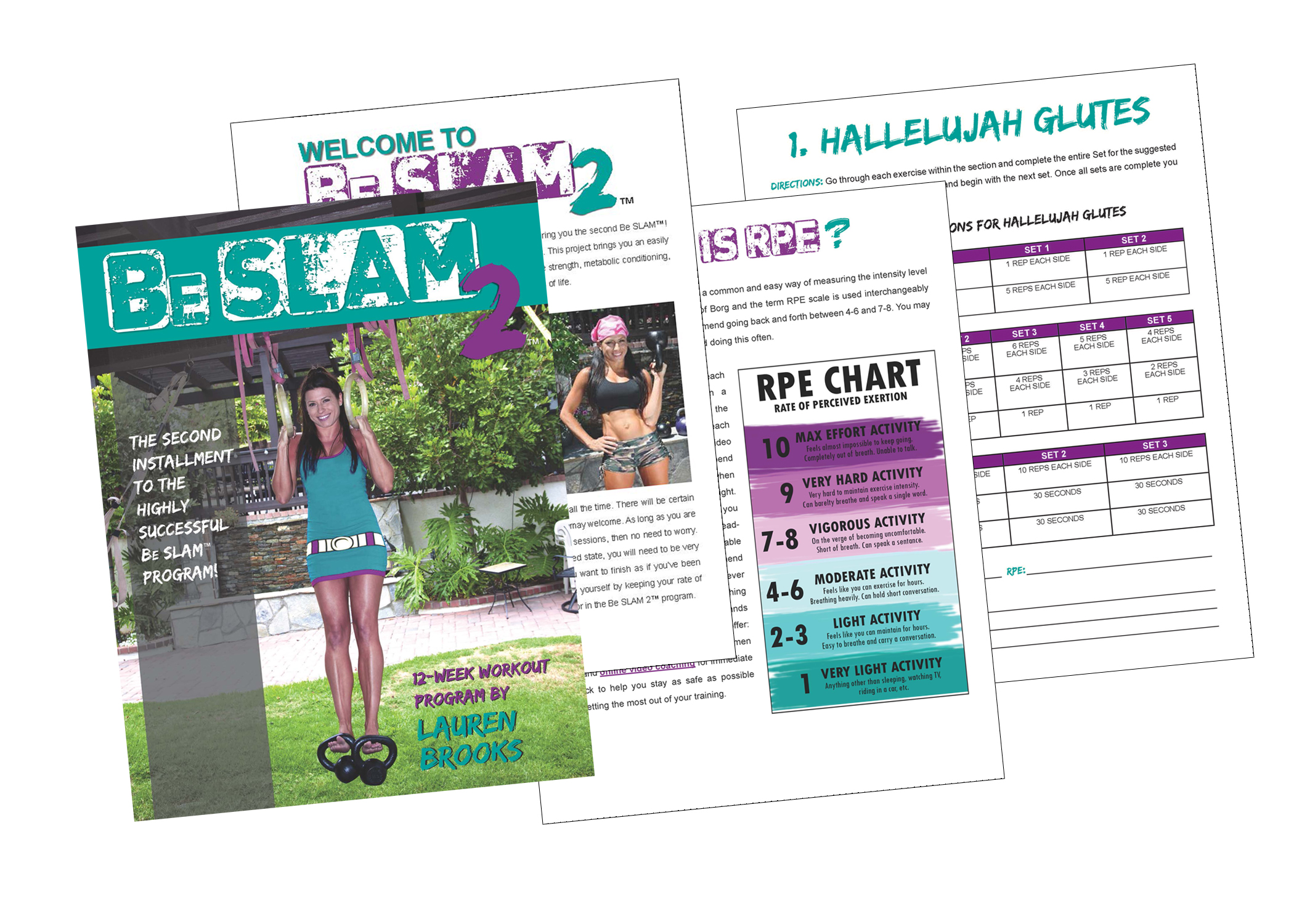 Be SLAM 2 - The hottest 12 week strength program