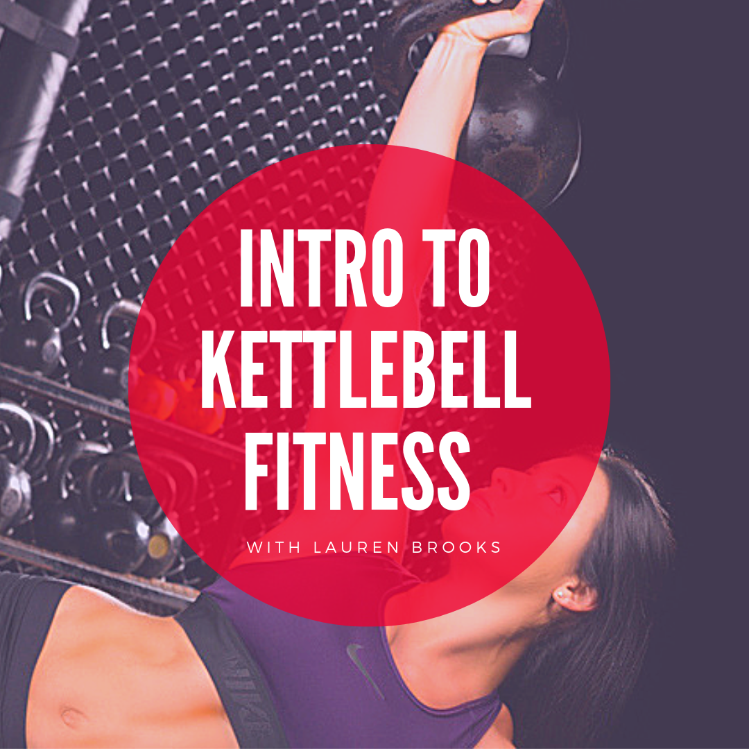 Intro To Kettlebell Fitness Class - 20% off for Early Birds - Code: Intro20