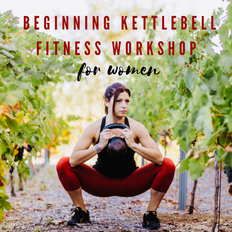 Beginning Kettlebell Fitness Workshop for Women