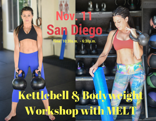 The Essentials Workshop - Kettlebell & Body Weight Workshop with MELT