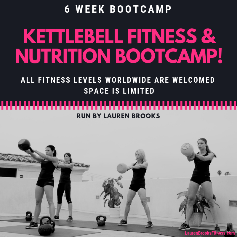 Kettlebell Fitness & Nutrition Bootcamp - Starts October 1st - 6 Weeks