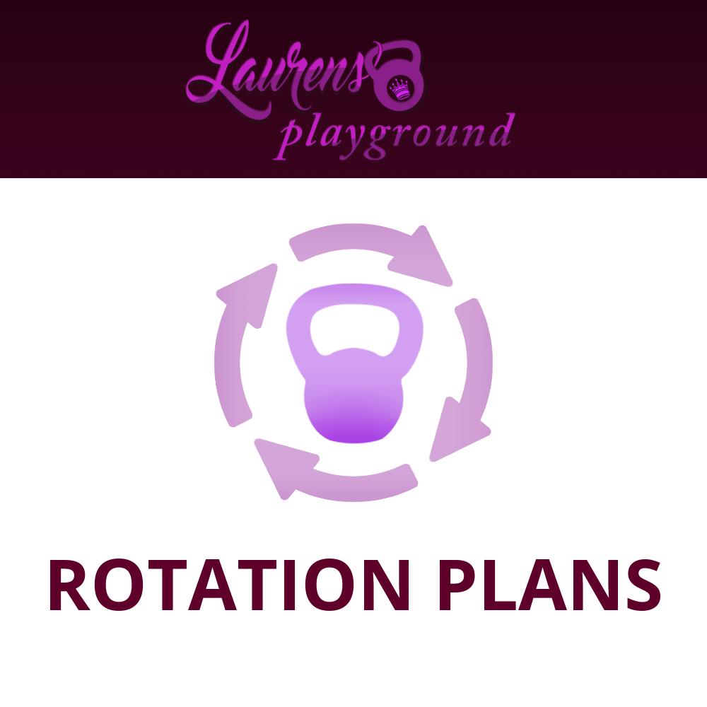 Rotation Plans For Lauren Brooks Kettlebell Video Programs