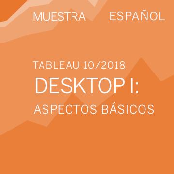 (Muestra) Tableau Desktop I: Aspectos básicos