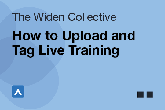 How to Upload and Tag Live Training