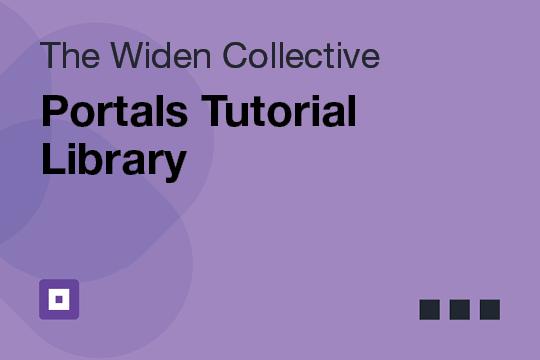 Portals Tutorial Library
