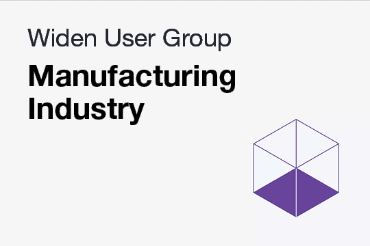 WUG: Manufacturing Industry Discussion