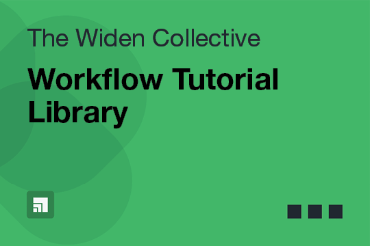Workflow Tutorial Library